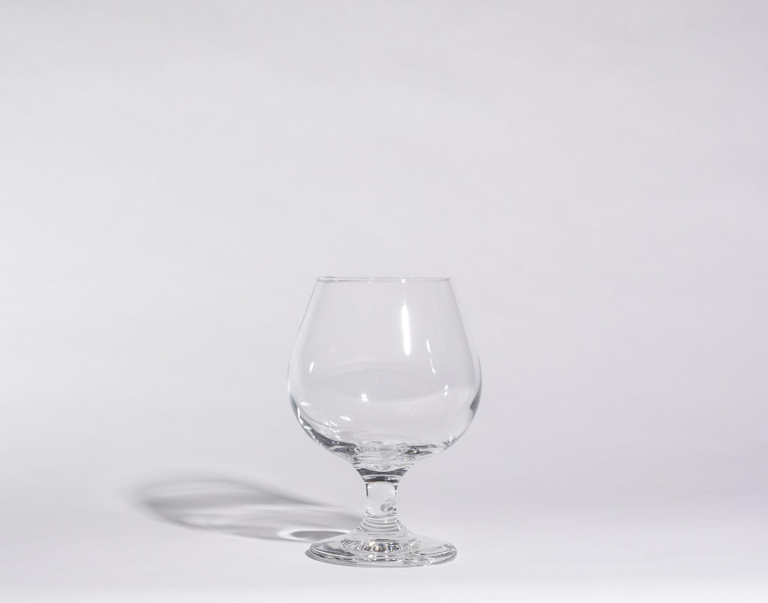 Brandy glasses (12oz, stemmed)