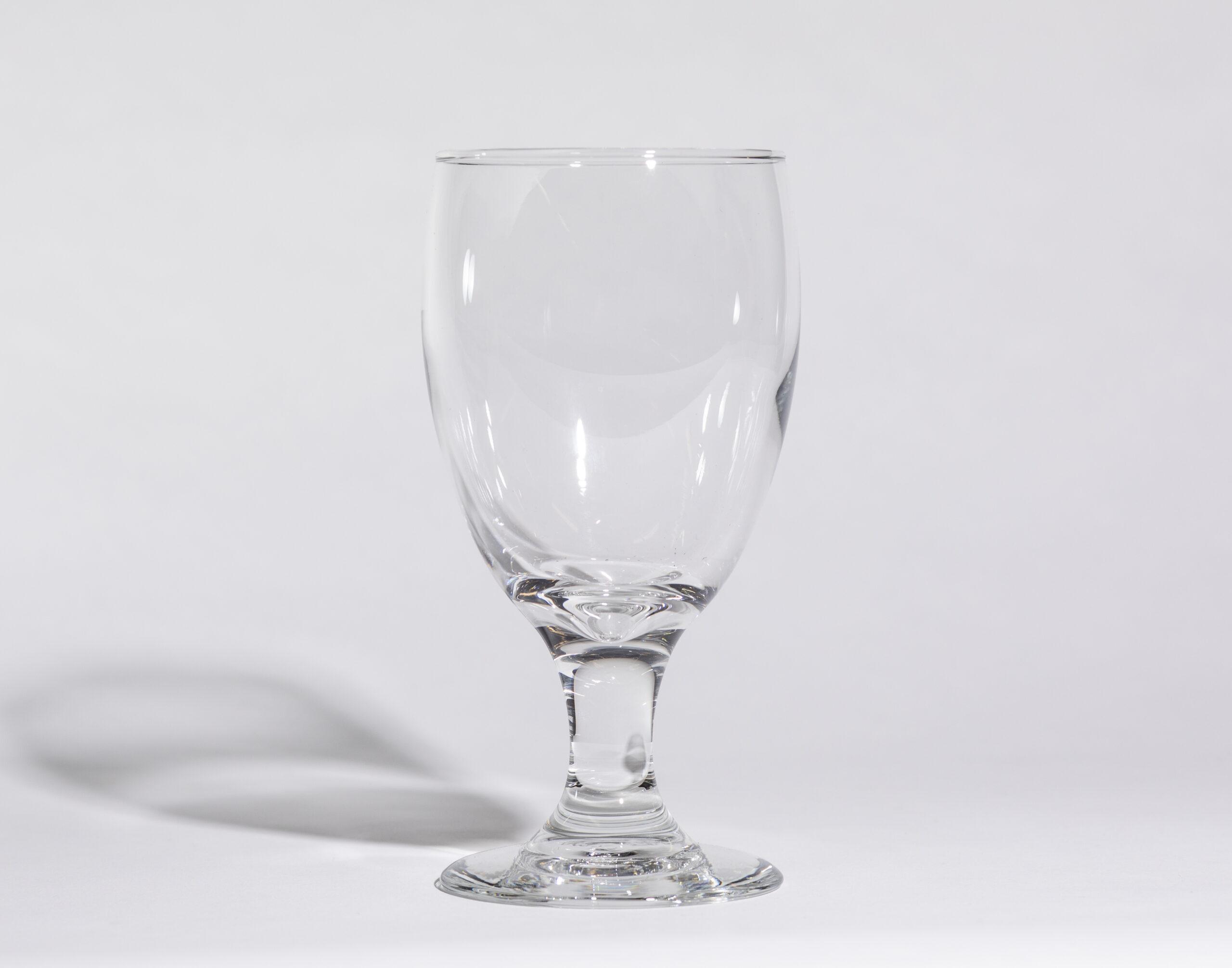 Water glasses (11oz, stemmed)