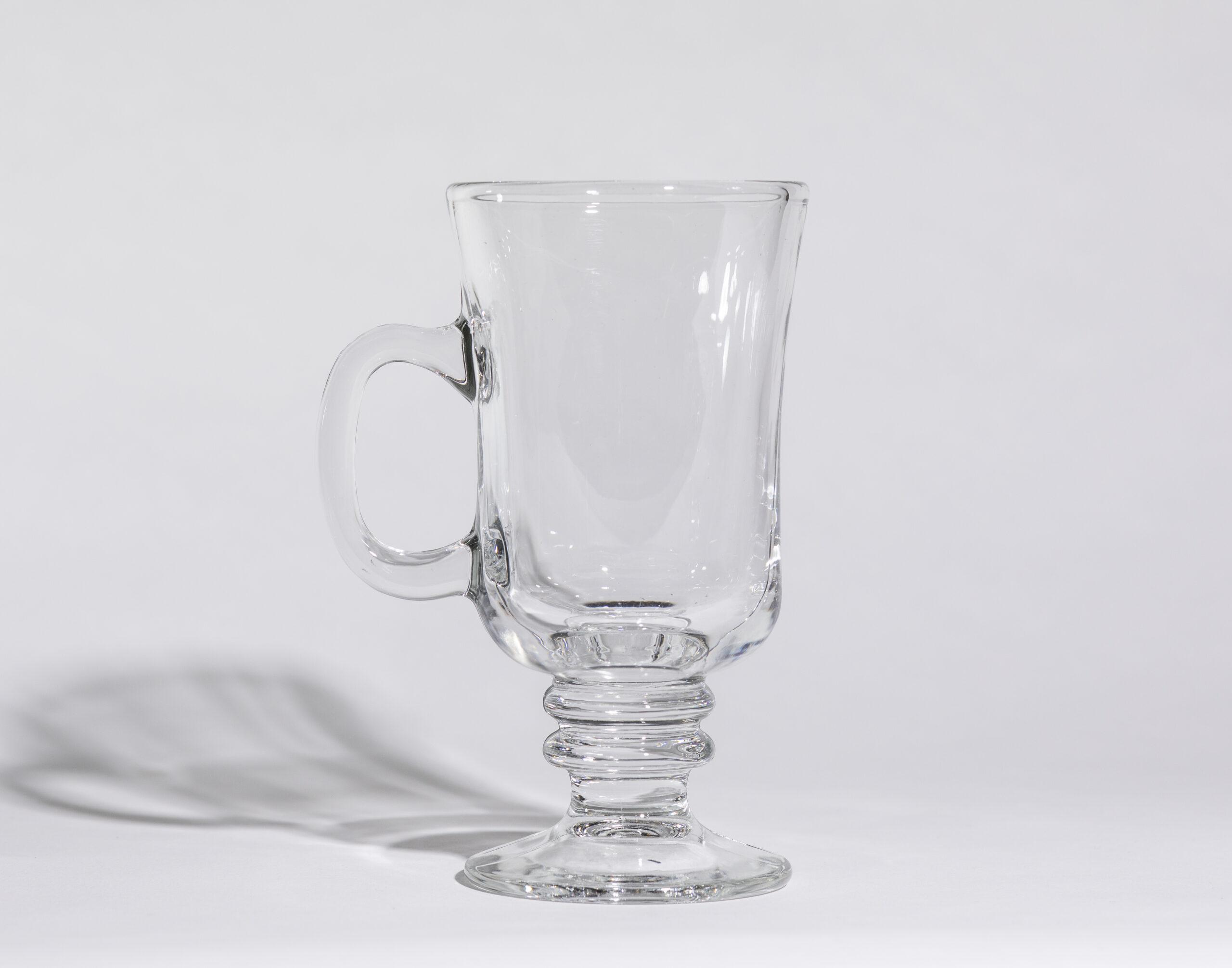 Irish coffee mugs (8oz, stemmed)