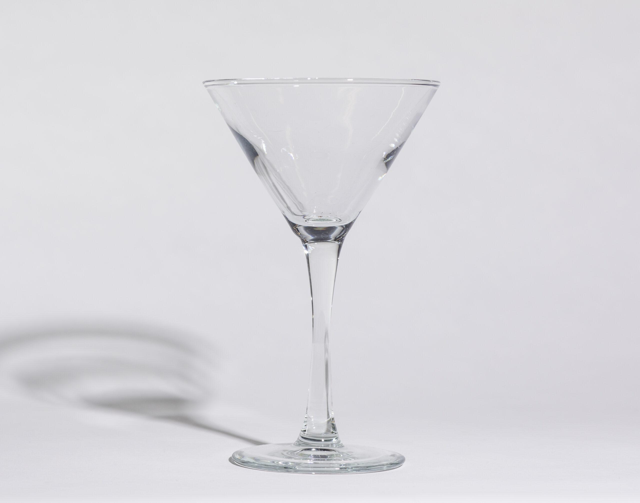 Martini glasses (5oz, stemmed)