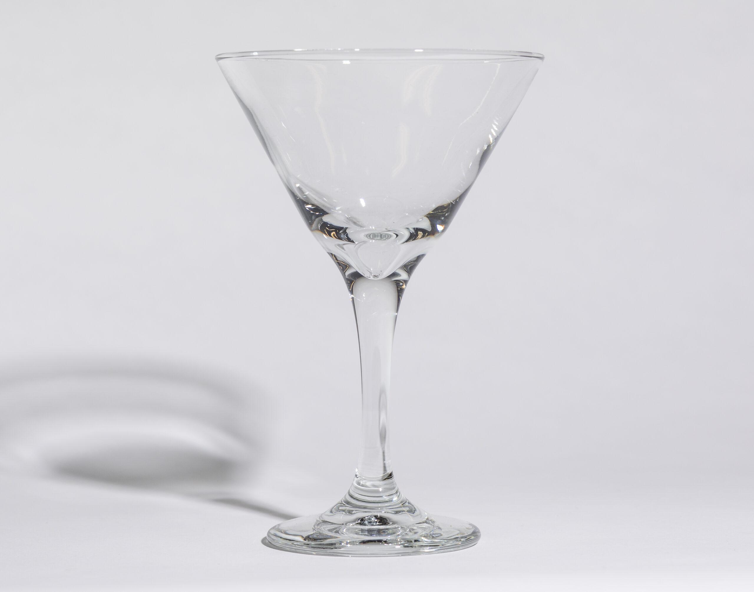 Martini glasses (10oz, stemmed)