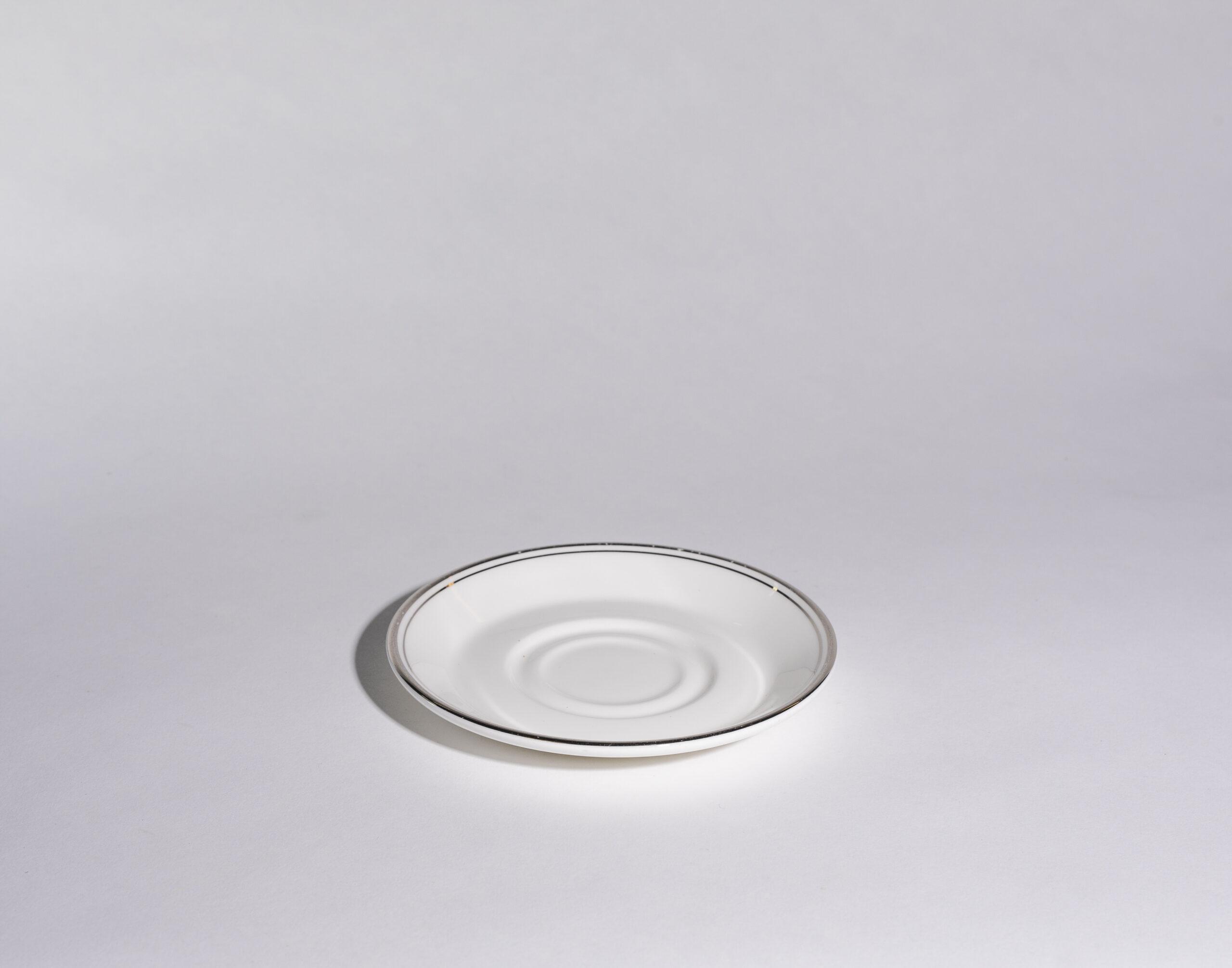 Coffee cup saucers