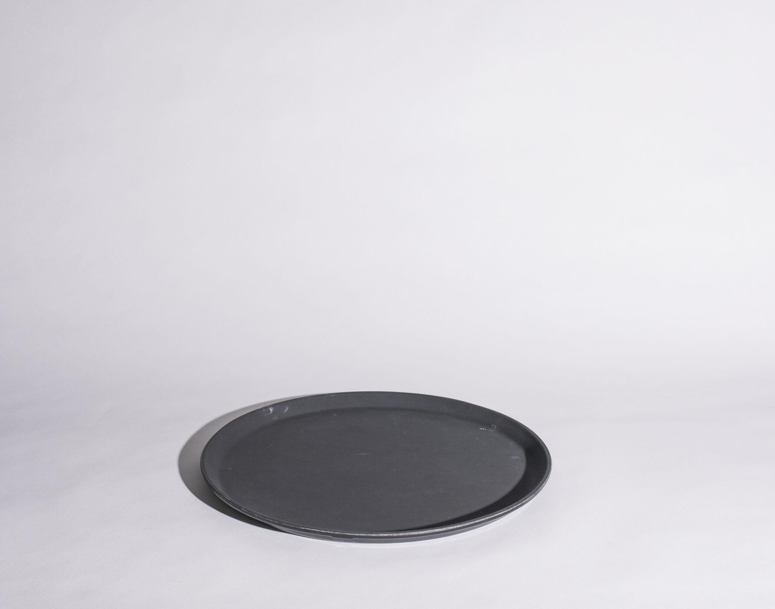 Bar tray (14'', round, plastic)