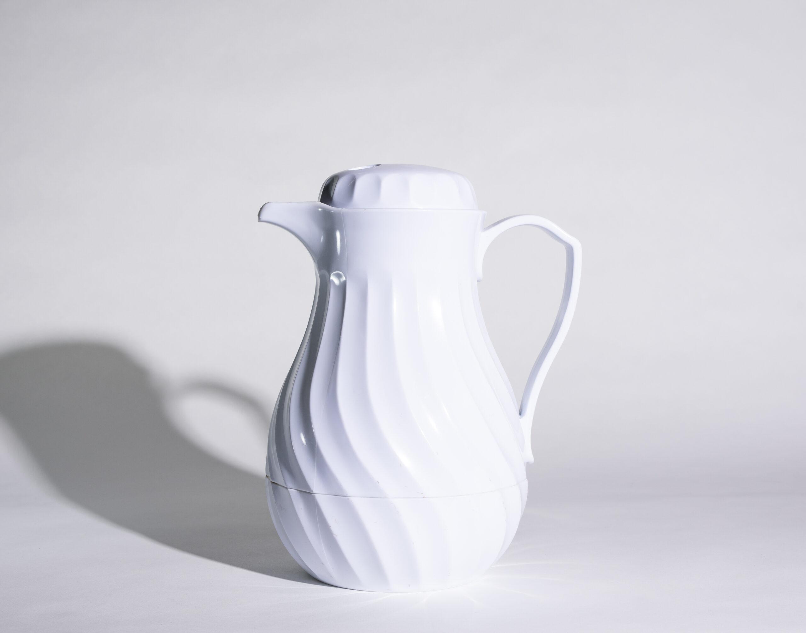 Coffee server (white, plastic)
