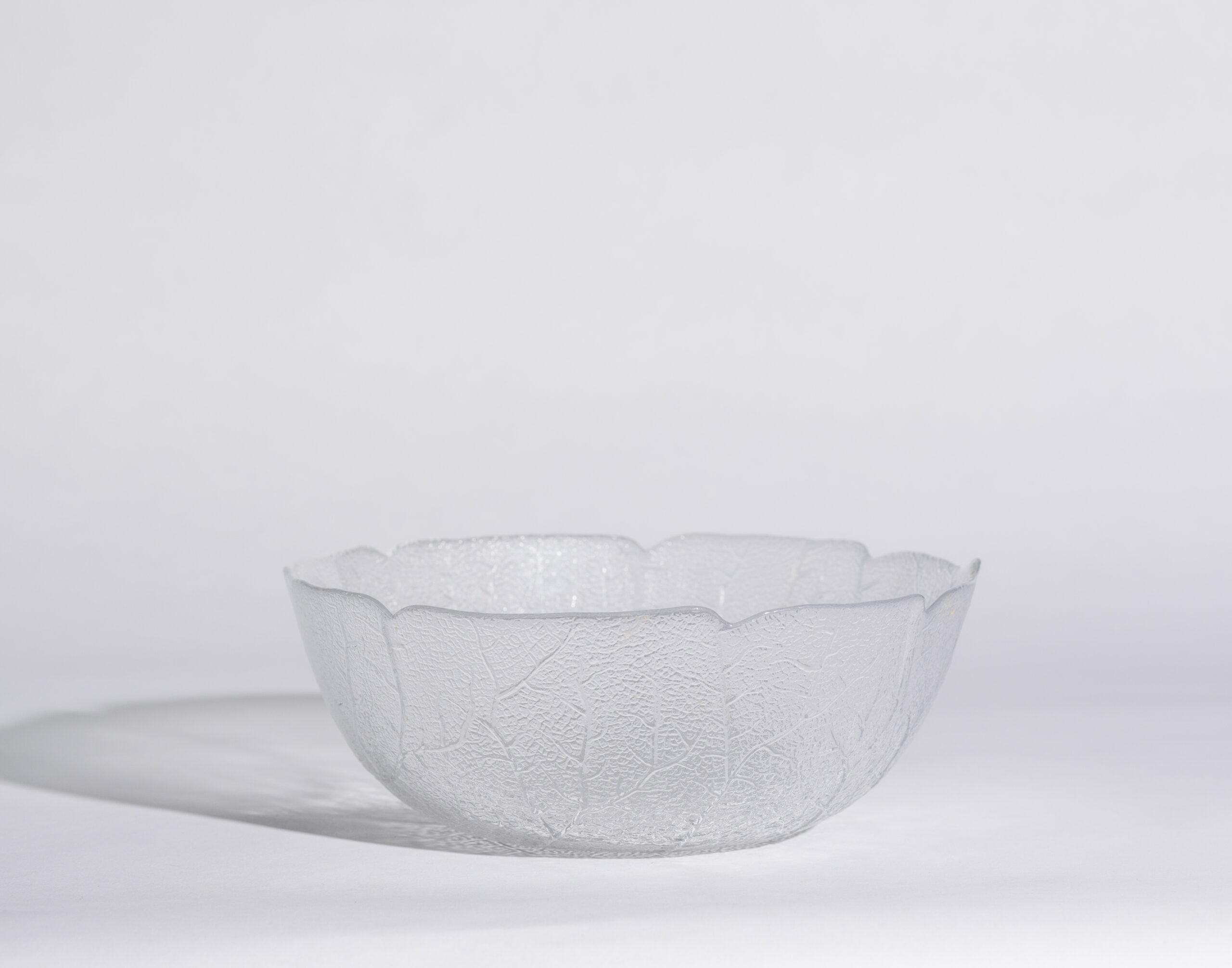 Salad bowl (9'', round, glass)