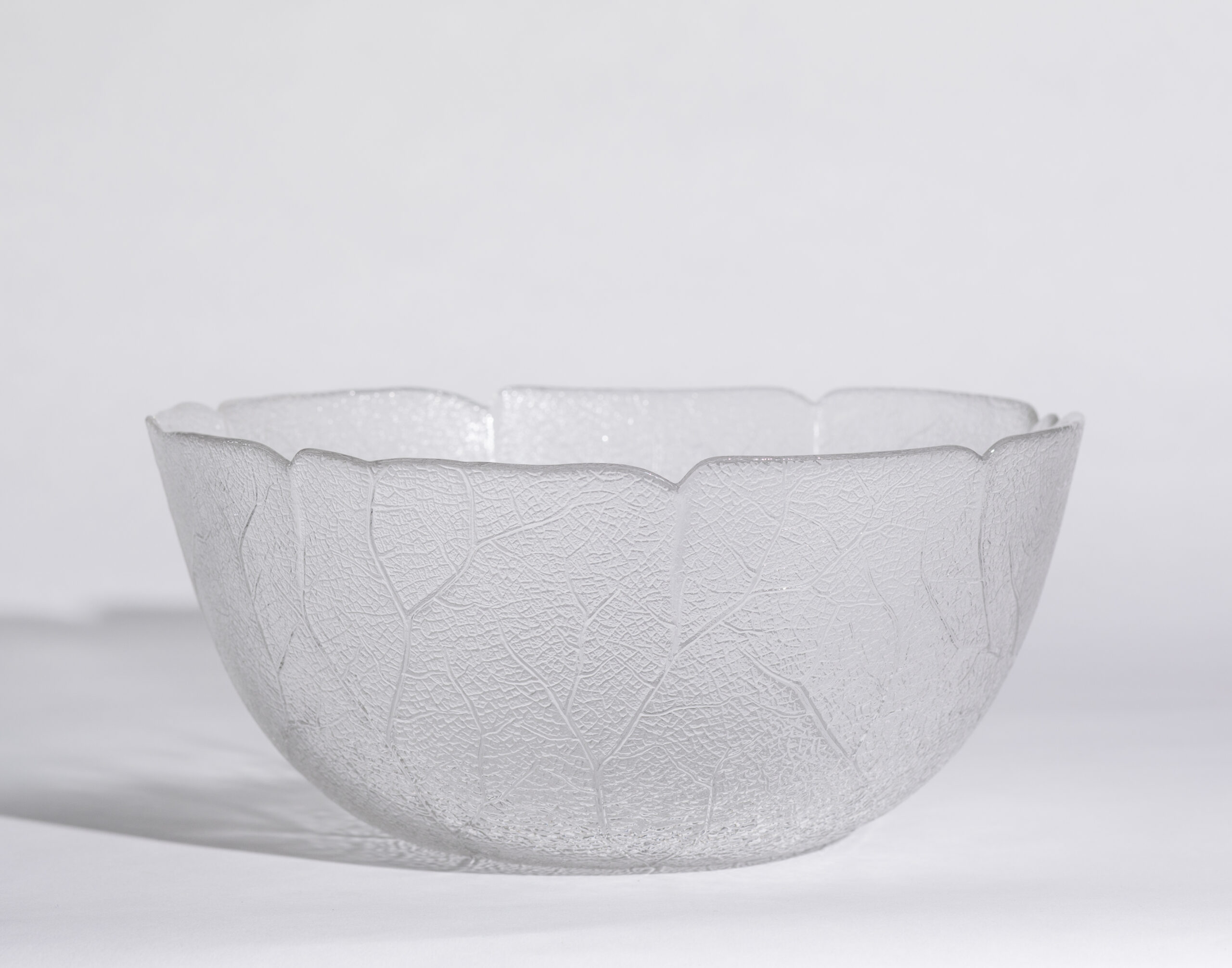 Salad bowl (12'', round, glass)