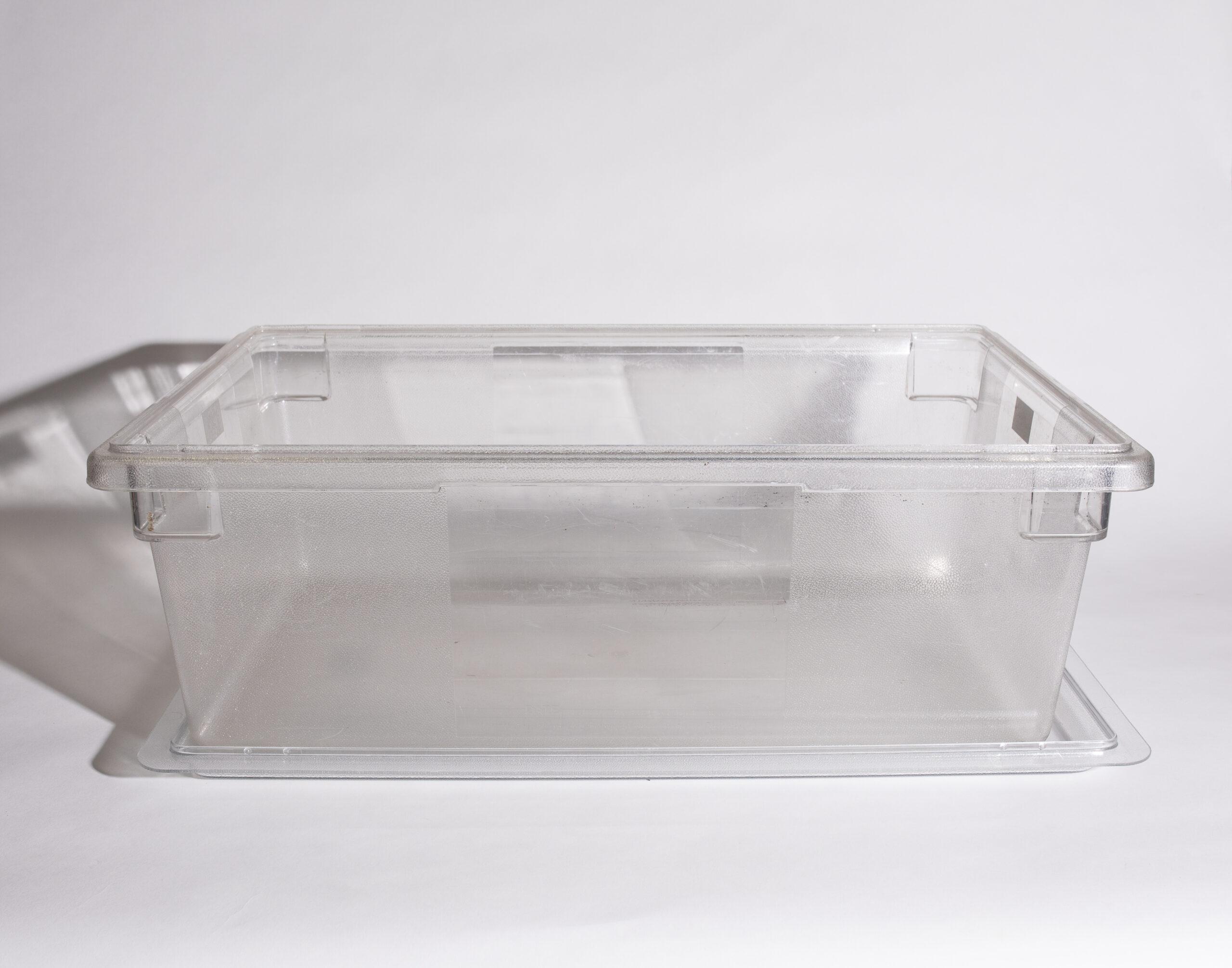 Beverage cooling bin (plastic)