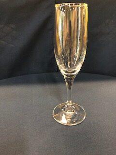 Champagne flute (6oz, stemmed)
