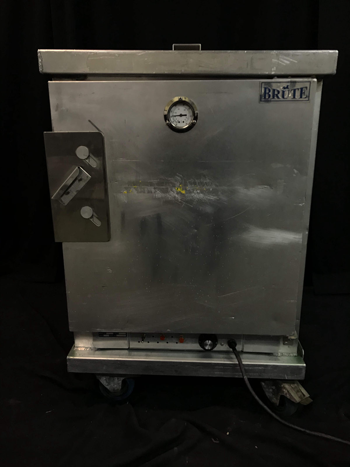 Hot box (half size, electrical, on wheels, stainless)