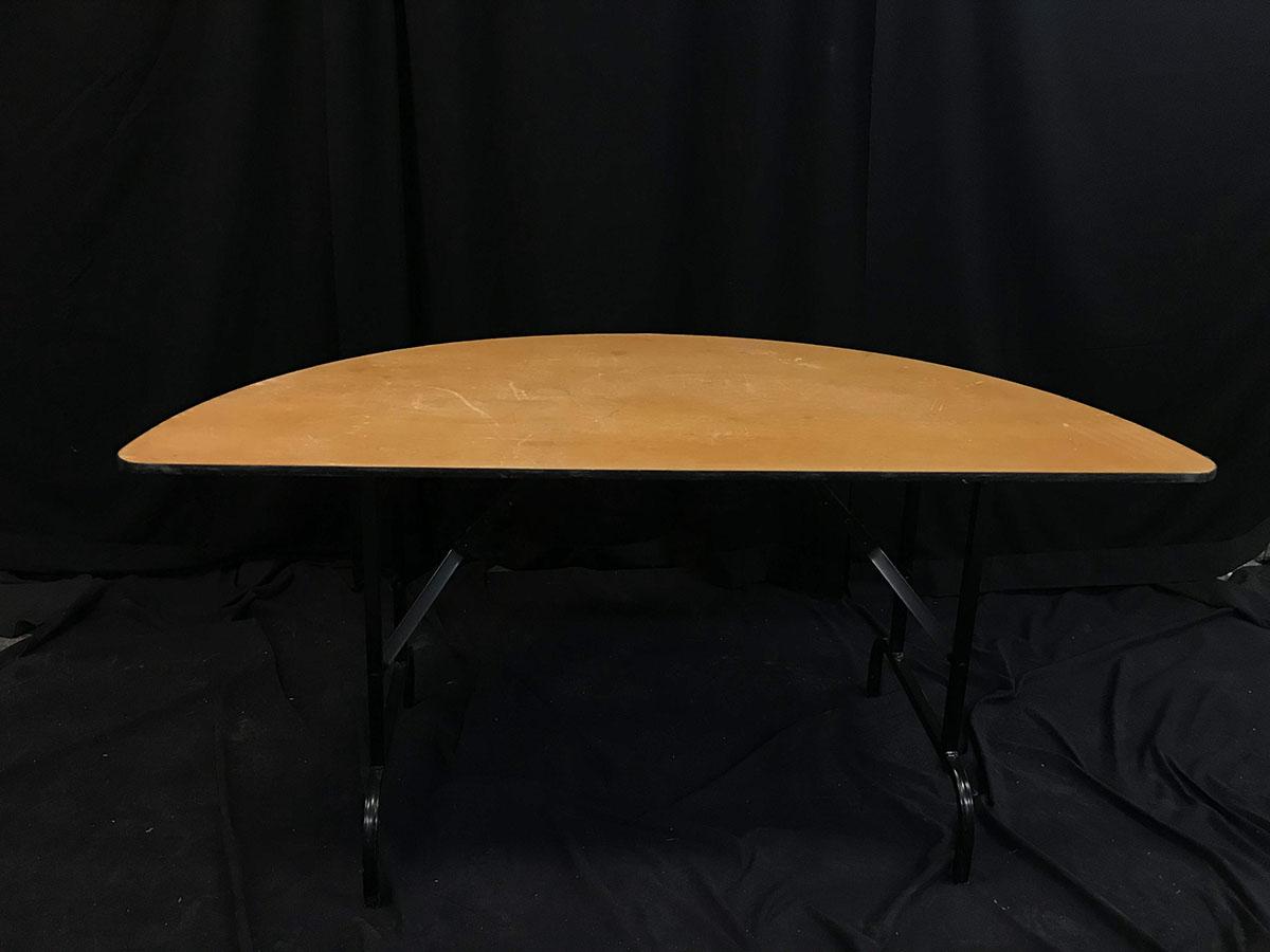 Half round (5', wood)